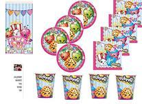 Red Balloon Celebrations Shopkins Party Pack for 16 Guests