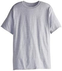 Hanes Men's Tall Short Sleeve Beefy-T, Light Steel, XX-Large