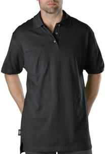 Dickies Men's Short Sleeve Mini Pique Polo With Moisture