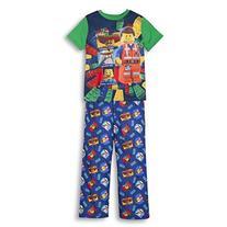 Lego Movie Boys 2 PC Short Sleeve Pajama Set