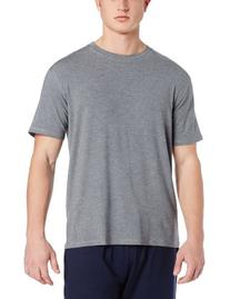 Derek Rose Men's Short Sleeve T-Shirt, Charcoal, X-Large