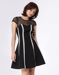 Morgan Short Slevee Dress