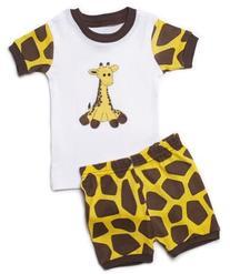 Leveret Shorts Girls Rainbow 2 Piece Pajama 100% Cotton