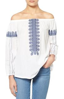Women's Madewell 'Folktale' Off The Shoulder Top, Size