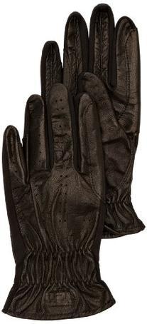 SSG Pro Show Leather Riding Gloves Mens L/10 Black