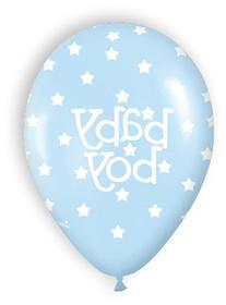 """""""Baby Boy"""" and """"Baby Girl"""" Baby Shower Latex Balloons"""
