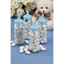 Baby Shower Favor - Baby Bottle - Blue - 3 inches - 12