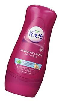 Veet in Shower Hair Remover Cream, Sensitive Formula, 10.10