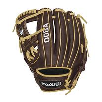 Wilson Showtime Pedroia Fit Baseball Gloves, Brown/Blonde,