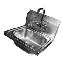 Apex SHS-W-1615 DuraSteel Stainless Steel Hand Sink Wall