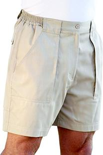 Windham Pointe Side Elastic Swiss Army Shorts 40W Sand beige