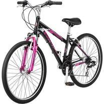 """26"""" Schwinn Sidewinder Women's Mountain Bike, Matte Black/"""