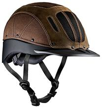 Troxel Sierra Helmet, Brown, Small
