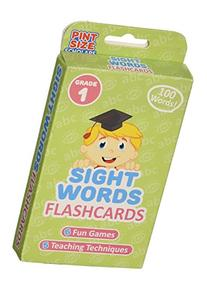 Sight Words Flashcards for Reading Readiness - Choose from 5