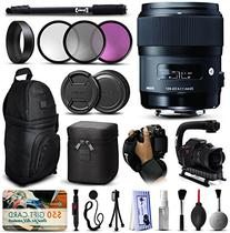 Sigma 35mm F1.4 DG HSM Art Lens for Sony  includes 3 Piece