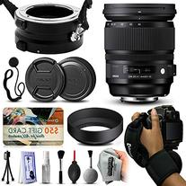 Sigma 24-105mm F4 DG OS HSM Art Lens for Canon  with