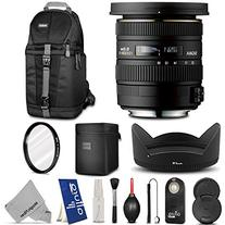 Sigma 10-20mm f/3.5 EX DC HSM ELD SLD Wide-Angle Lens for