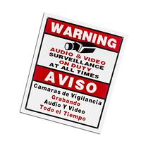 BV-Tech SIGN-F Best Vision 12 x 16 Security Surveillance