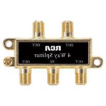 RCA 4-Way Signal Splitter
