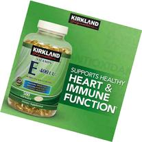 Kirkland SignatureTM Vitamin E 400 Iu, 500 Softgels