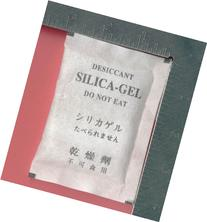 """30 Gram Pack of 100 """"Dry&dry"""" Silica Gel Packets Desiccant"""