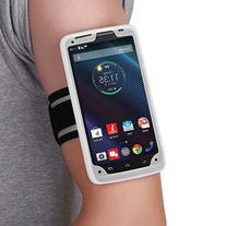 Droid Turbo Armband, MoKo Silicone Armband for Motorola