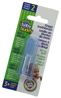 Baby Buddy Finger Toothbrush Stage 2 for Babies/Toddlers,