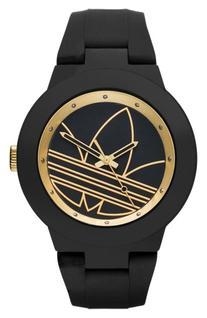 Women's Adidas Originals 'Aberdeen' Silicone Strap Watch,