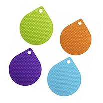 Silicone Trivet Mat, Pot Holder, Jar Opener, Spoon Rest,