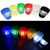 InnoLife- 6Pcs Silicone Waterproof Super Frog LED Bicycle