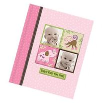 Silly Monkey Baby Girl - Babys First Five Years Keepsake