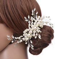 Remedios Crystal Jewelry Comb Bridal Wedding Headpiece Hair