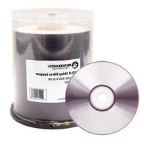 Microboards Silver Lacquer Printable 16X DVD-R Media 600