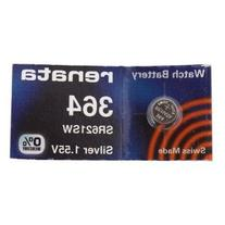 Renata Silver Oxide Watch Battery For Renata 364 Button Cell