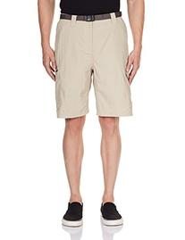 Columbia Men's Silver Ridge Cargo Short, Fossil, 36x10