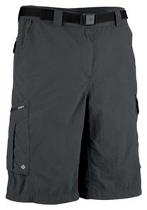 Columbia Silver Ridge Cargo Shorts for Men - Grill - 32