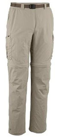 Columbia Silver Ridge Convertible Pant, 42x32, Fossil