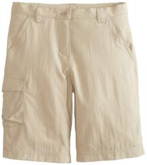 Columbia Boy's Silver Ridge III Shorts , Fossil, Small