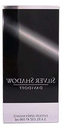 Silver Shadow By Davidoff For Men. Aftershave 3.4 oz