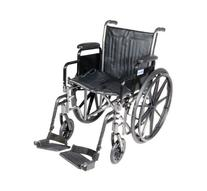 Silver Sport 2 Wheelchair with Detachable Desk Arms and