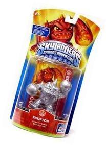 SILVER Skylanders Spyro's Adventure ERUPTOR Figure