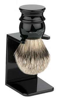 Edwin Jagger Large Silver Tip Badger Hair Shaving Brush With