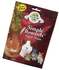 Oxbow Animal Health Simple Rewards Veggie Treat for Pets, 2.