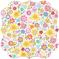 """Simply Spring Invisibles Die-Cut Plastic Sheet 12""""X12""""-"""