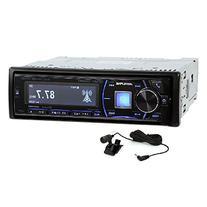 Alpine Single-Din Bluetooth Car Stereo with HD Radio,