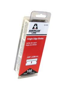 American Safety Razor 66-0089 Single Edge Razor Blade Box