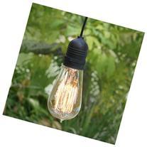 Single Socket Black Commercial Grade Outdoor Pendant Light