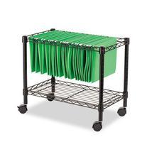 Best Single-Tier Rolling File Cart ALEFW601424BL