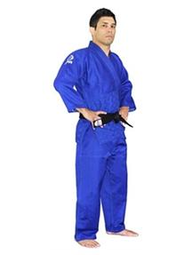 Fuji Single Weave Judo, Blue, Size 0000