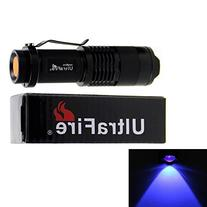 UltraFire® SK68 300LM 7W 3-Mode Mini XPE Zoomable UV LED